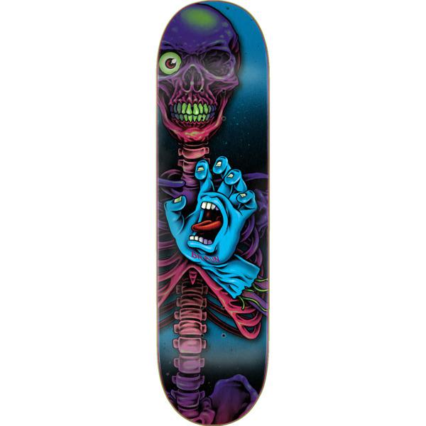"Santa Cruz Skateboards Hand Crew Braun Everslick Skateboard Deck - 8.25"" x 31.8"""