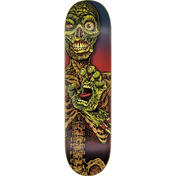 """Santa Cruz Skateboards Hand Crew Undead Everslick Skateboard Deck - 8.5"""" x 32.2"""""""