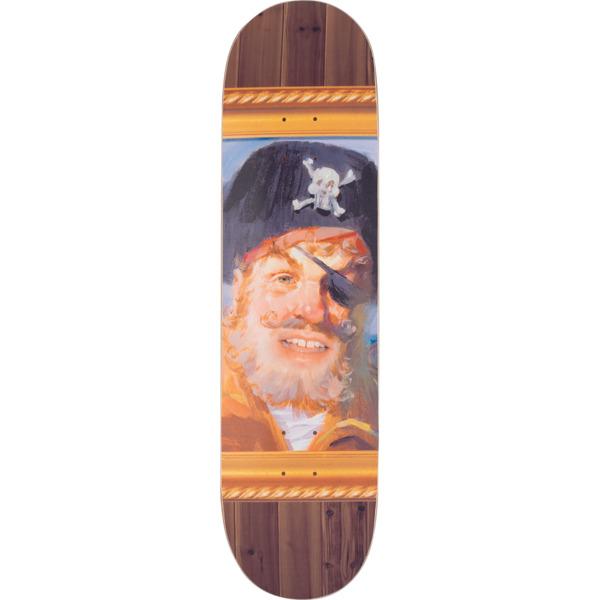 """Santa Cruz Skateboards SpongeBob SquarePants Captain Skateboard Deck Everslick - 8.25"""" x 31.8"""""""