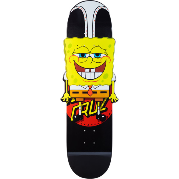 "Santa Cruz Skateboards SpongeBob SquarePants Hangin Out Skateboard Deck - 10.27"" x 31.43"""
