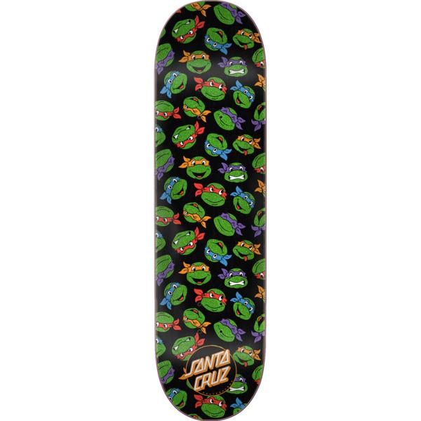 """Santa Cruz Skateboards TMNT Allover Turtle Skateboard Deck - 8.25"""" x 31.8"""""""