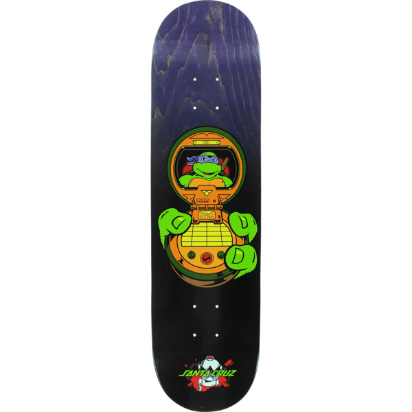 "Santa Cruz Skateboards TMNT Donatello Skateboard Deck - 8.12"" x 31.7"""