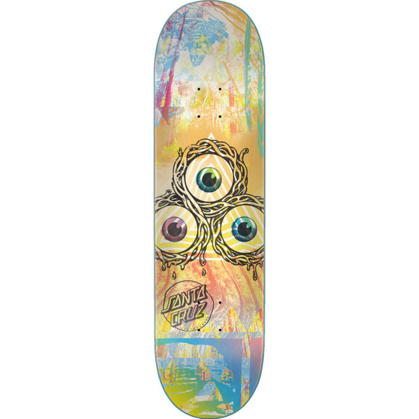 "Santa Cruz Skateboards Til the Day Everslick Skateboard Deck - 8.25"" x 31.8"""