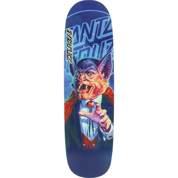 "Santa Cruz Skateboards The Worst Batula Everslick Skateboard Deck - 8.5"" x 31.85"""