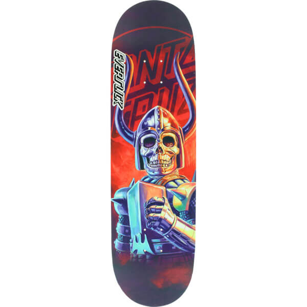 "Santa Cruz Skateboards The Worst Black Flacon Everslick Skateboard Deck - 8.5"" x 32.2"""