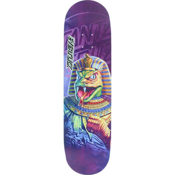 "Santa Cruz Skateboards The Worst Snake Tut Everslick Skateboard Deck - 8.25"" x 31.8"""