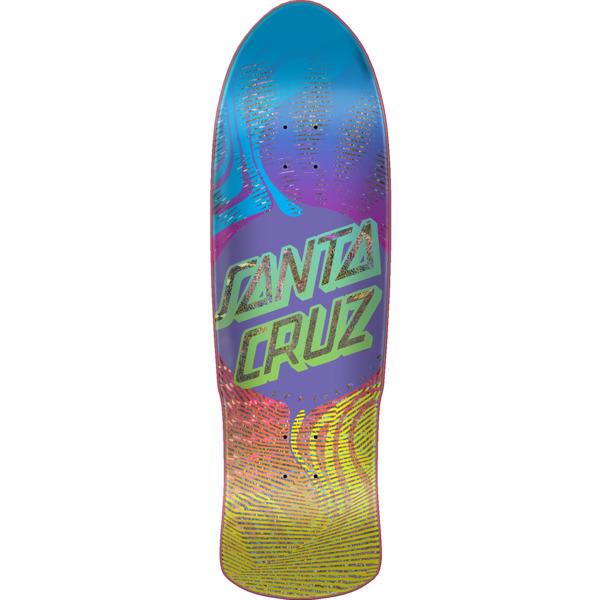 """Santa Cruz Skateboards Vertigo Flow Dot Pre Issue Skateboard Deck - 9.42"""" x 31.88"""""""