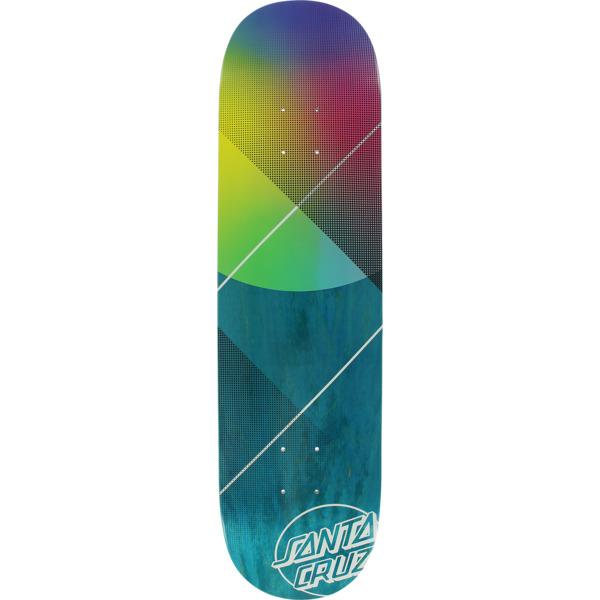 "Santa Cruz Skateboards VX Promo Logo Blue Skateboard Deck - 8"" x 31.6"""