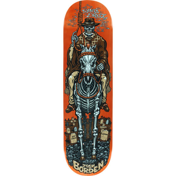 Santa Cruz Skateboards Borden Cowboy Pro Deck