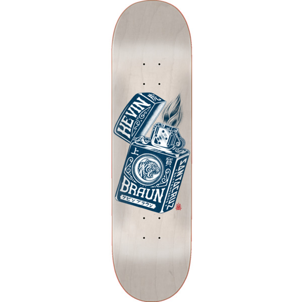 "Santa Cruz Skateboards Braun Mako Lighter Powerply Skateboard Deck - 8.25"" x 31.8"""