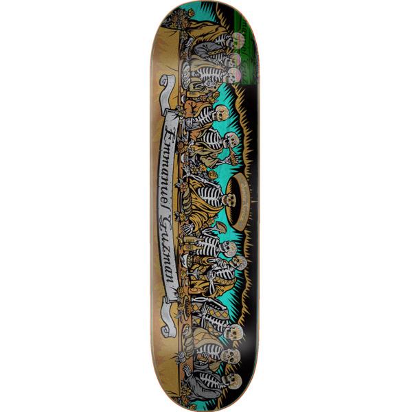 "Santa Cruz Skateboards Emanuel Guzman Dining with the Dead Skateboard Deck - 8.27"" x 31.83"""