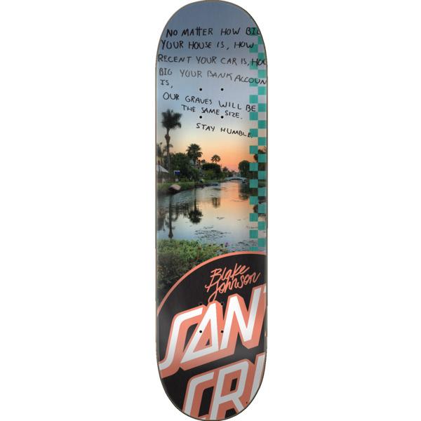 "Santa Cruz Skateboards Blake Johnson Photo OP Skateboard Deck - 8.37"" x 32"""