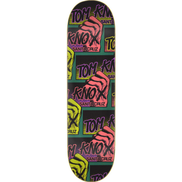 "Santa Cruz Skateboards Tom Knox Big Fist Skateboard Deck Power Ply - 9"" x 33"""