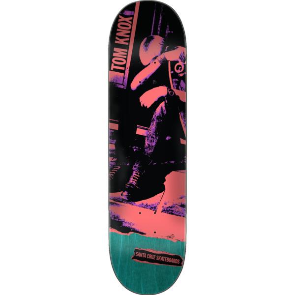 "Santa Cruz Skateboards Tom Knox Punk Skateboard Deck - 8.25"" x 31.8"""