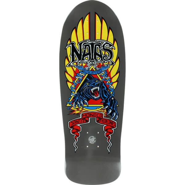 Santa Cruz Skateboards Natas Kaupas Panther Charcoal Old