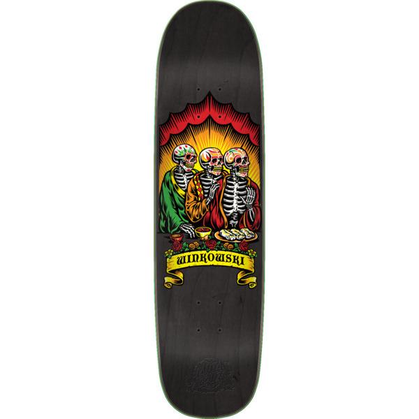 "Santa Cruz Skateboards Erick Winkowski Dine with Me Skateboard Deck - 8.5"" x 31.85"""