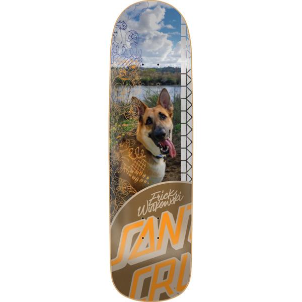 "Santa Cruz Skateboards Erick Winkowski Photo OP Skateboard Deck - 9.05"" x 32.19"""