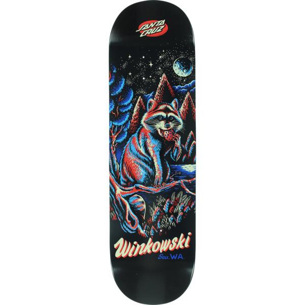 "Santa Cruz Skateboards Erick Winkowski Trash Panda Skateboard Deck - 8.6"" x 30.54"""