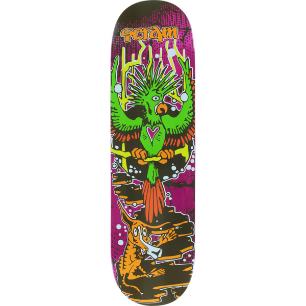"Scram Skateboards Bird Skateboard Deck - 8.25"" x 32"""