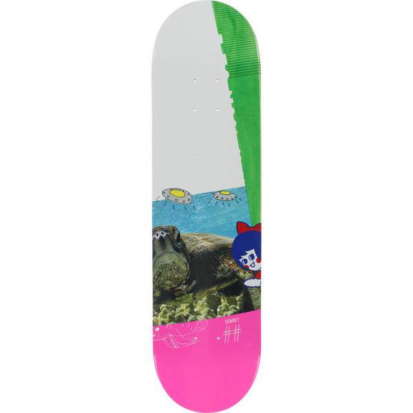 "ScumCo & Sons Brian Downey Turtlutz Skateboard Deck - 8"" x 32"""