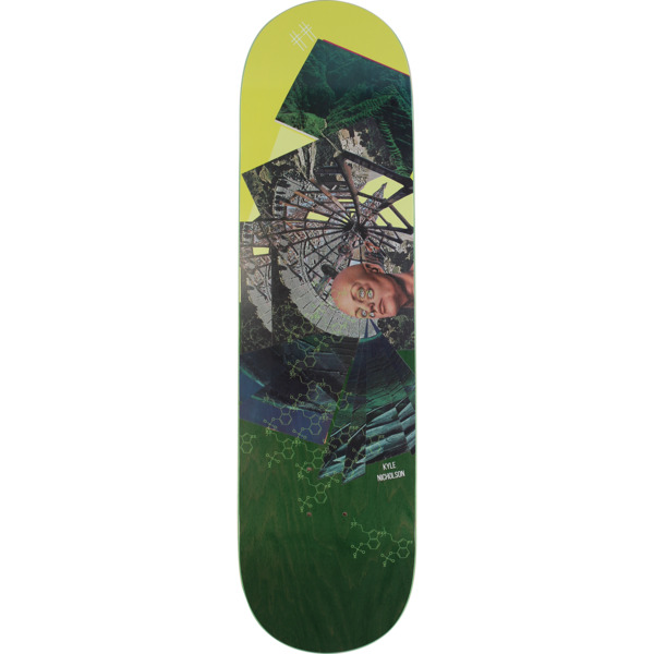 "ScumCo & Sons Kyle Nicholson SMP Skateboard Deck - 8.25"" x 32"""