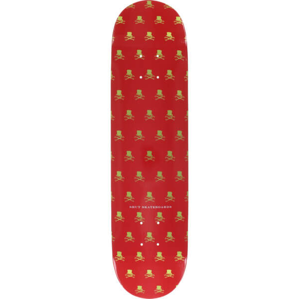 "Shut Skateboards 5 Points Cartier Skateboard Deck - 7.75"" x 32"""
