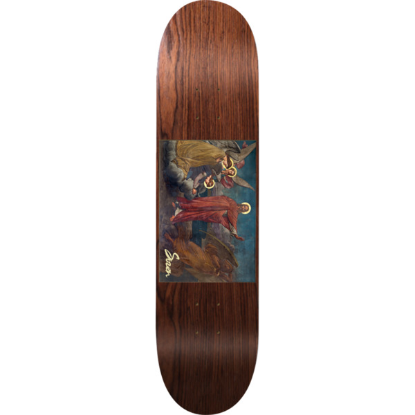 "Siren Skateboards Portrait Depart Brown Skateboard Deck - 8.1"" x 32"""