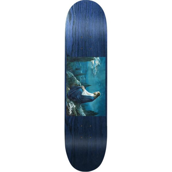 """Siren Skateboards Portrait Blue Skateboard Deck - 8.25"""" x 32"""""""