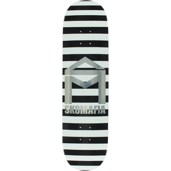 "Sk8mafia Skateboards House Logo Referee Skateboard Deck - 8"" x 32"""