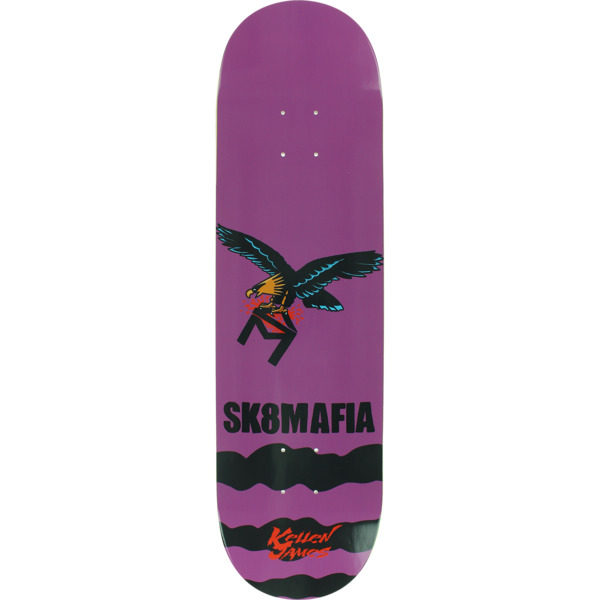 "Sk8mafia Skateboards Kellen James Animal Style Skateboard Deck - 8.38"" x 32"""