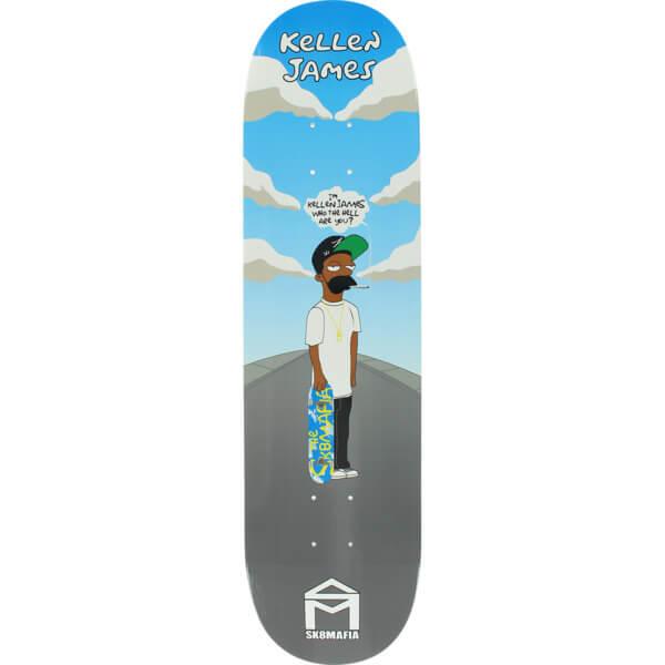 "Sk8mafia Skateboards Kellen James Pimp Suns Skateboard Deck - 8.06"" x 32"""