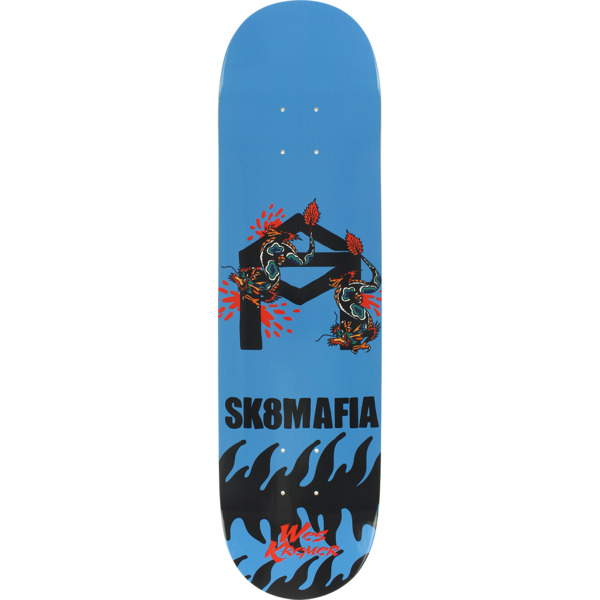"Sk8mafia Skateboards Wes Kremer Animal Style Skateboard Deck - 8"" x 32"""