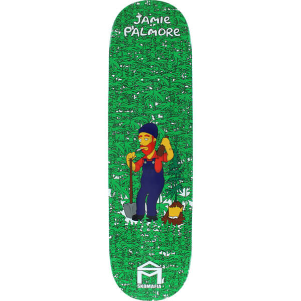 "Sk8mafia Skateboards Jamie Palmore Pimp Suns Skateboard Deck - 8.5"" x 32.38"""