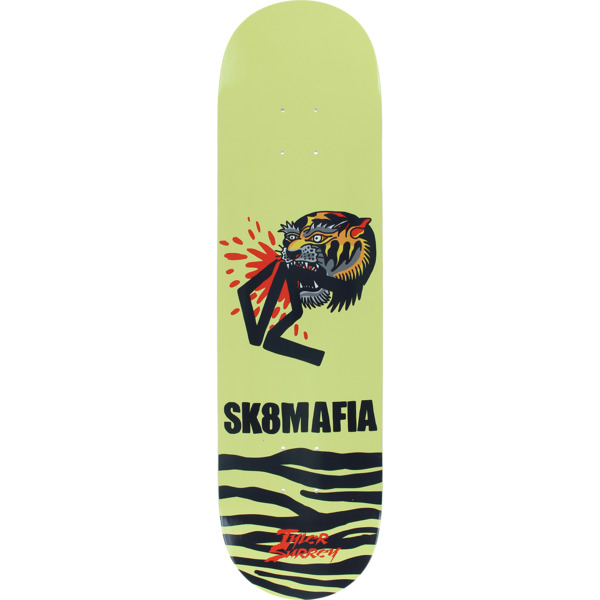 "Sk8mafia Skateboards Tyler Surrey Animal Style Skateboard Deck - 8.25"" x 32"""