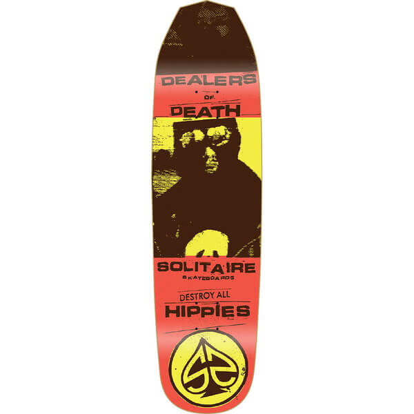 Solitaire Skateboards DOD Hippies Deck