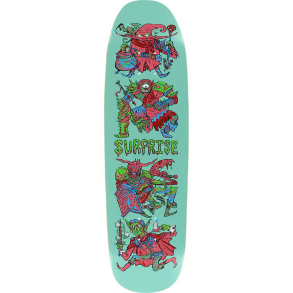 "Surprise Skateboards KG1 Keegan McGee Skateboard Deck - 8.75"" x 32"""