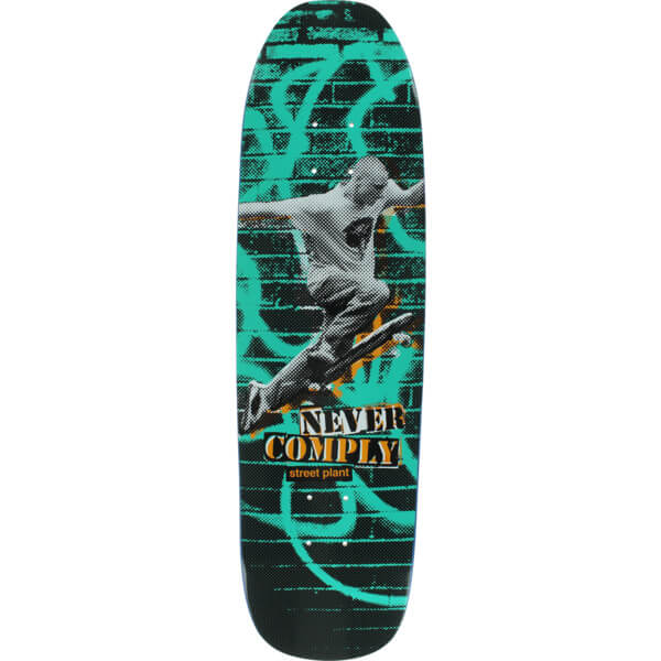 Street Plant Skateboards Never Comply Deck
