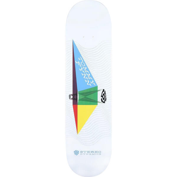 "Stereo Skateboards Tommy Fynn Stereo Dynamics Skateboard Deck - 8.25"" x 32"""