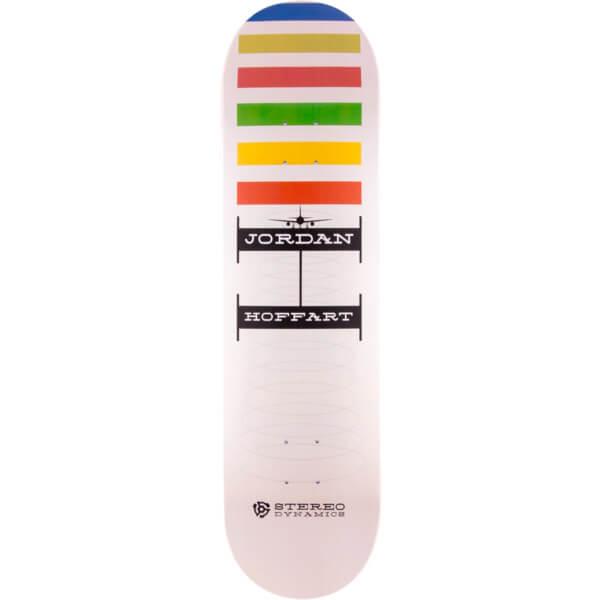 "Stereo Skateboards Jordan Hoffart Stereo Dynamics Skateboard Deck - 8.5"" x 32"""