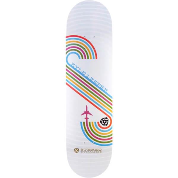 "Stereo Skateboards Kyle Leeper Stereo Dynamics Skateboard Deck - 7.75"" x 32"""
