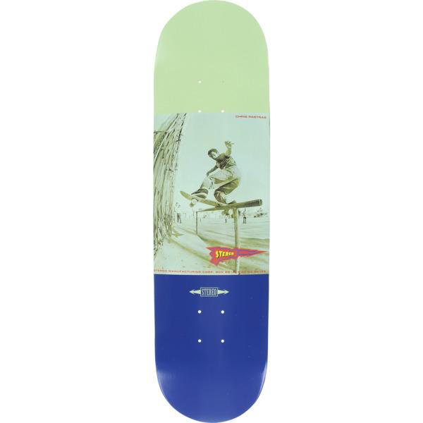 "Stereo Skateboards Chris Pastras Front Board Skateboard Deck - 8.25"" x 32"""