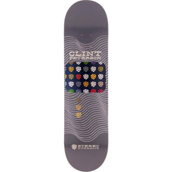 "Stereo Skateboards Clint Peterson Stereo Dynamics Skateboard Deck - 8"" x 32"""