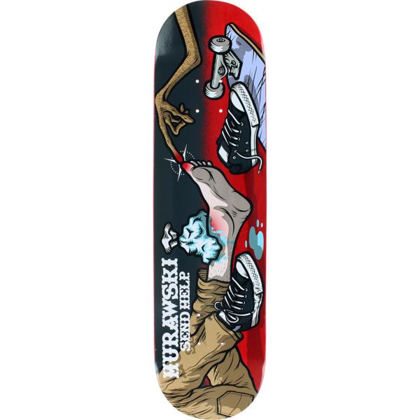 "Send Help Skateboards Mura Skateboard Deck - 8"" x 32"""