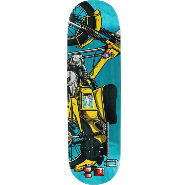 "Send Help Skateboards Tabari Cook Rockers Skateboard Deck - 8.75"" x 32"""