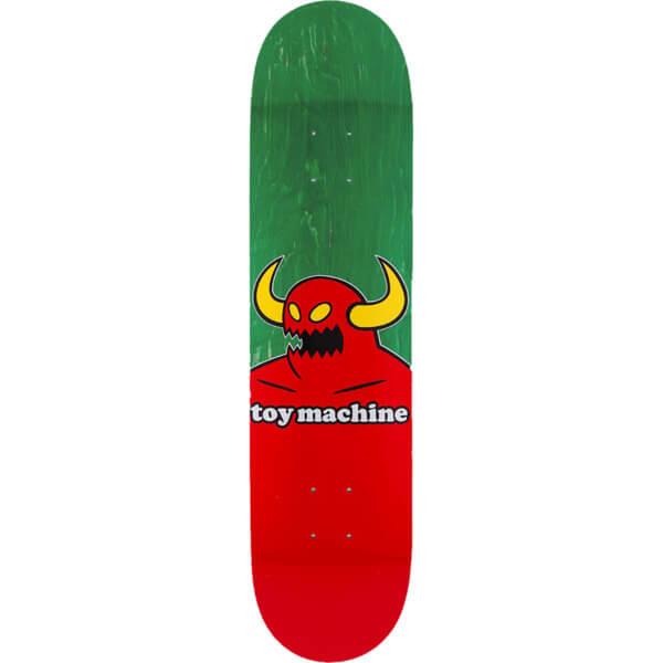 "Toy Machine Skateboards Monster Green Skateboard Deck - 8"" x 31.63"""