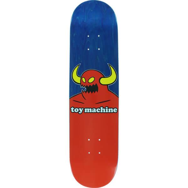 Toy Machine Skateboards Monster Blue Stain Skateboard Deck