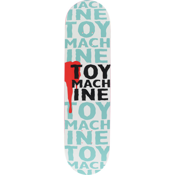 "Toy Machine Skateboards New Blood Skateboard Deck - 7.62"" x 31.5"""