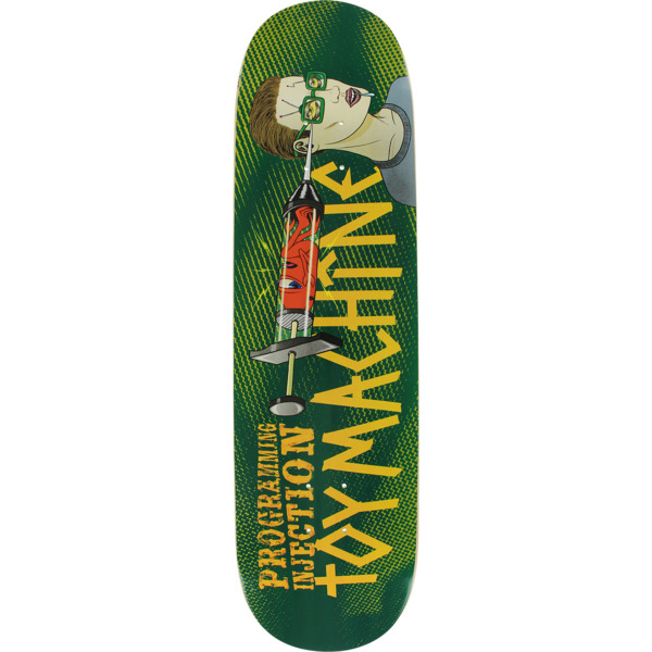 "Toy Machine Skateboards Programming Injection Skateboard Deck - 8.25"" x 32"""
