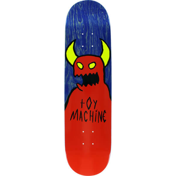 "Toy Machine Skateboards Sketchy Monster Skateboard Deck - 8"" x 31.75"""