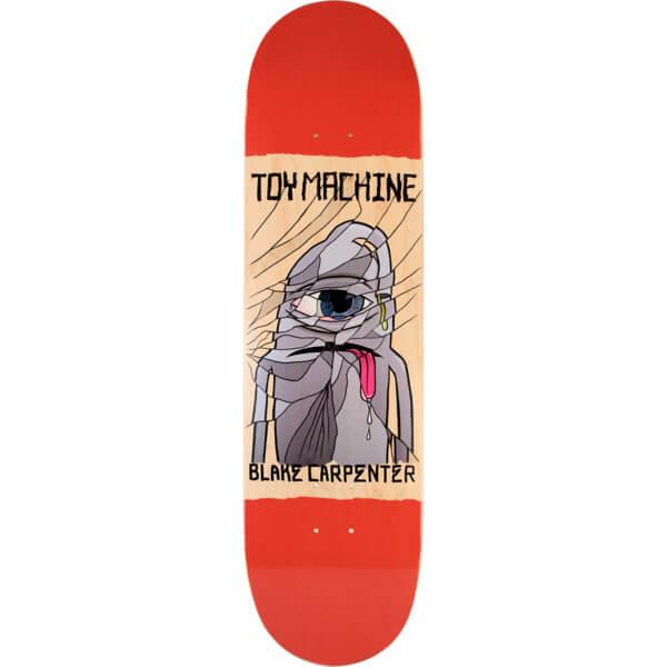 Toy Machine Skateboards Blake Carpenter Broken Skateboard